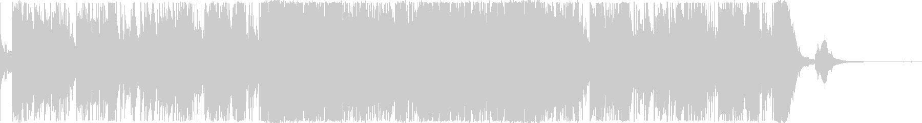 ロマンチックなバー・ジャズファンク・1分の未再生の波形