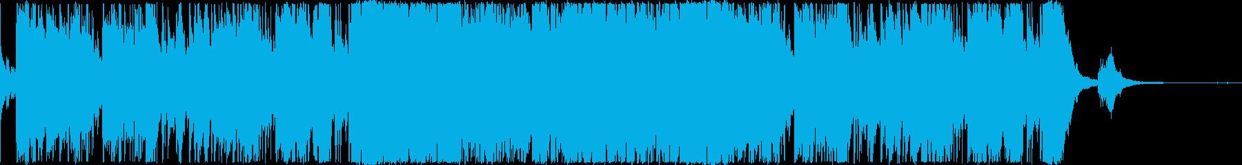 ロマンチックなバー・ジャズファンク・1分の再生済みの波形
