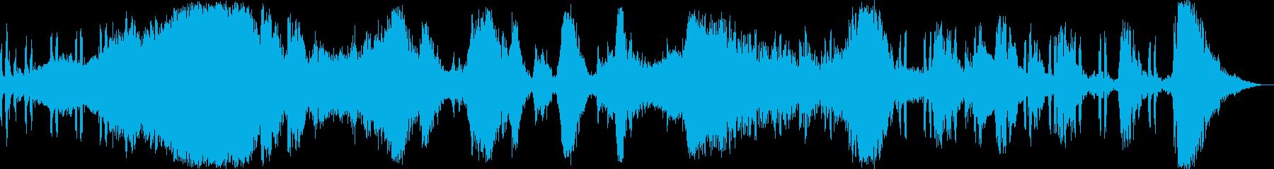 ホラー 映画 CM 『デッドレース』の再生済みの波形