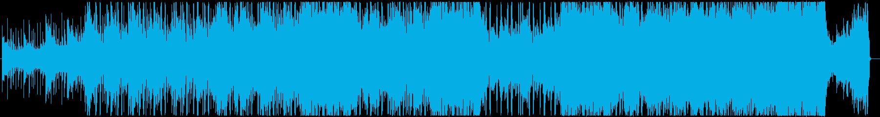 エフェクトボイス、ポストロック、オルタナの再生済みの波形