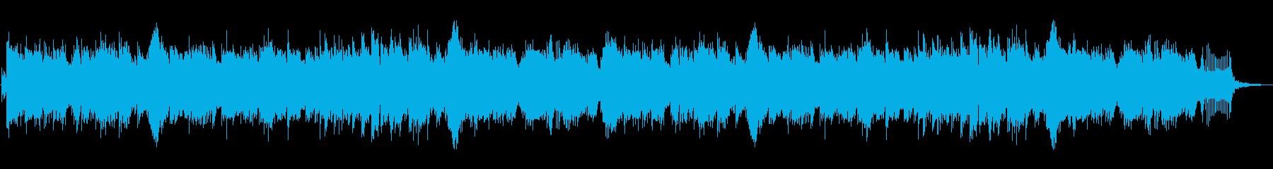 ジブリ風の不思議な生物がでてくるジングルの再生済みの波形