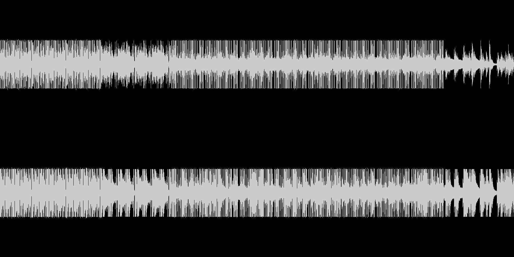 lofi_hiphop風のBGMの未再生の波形