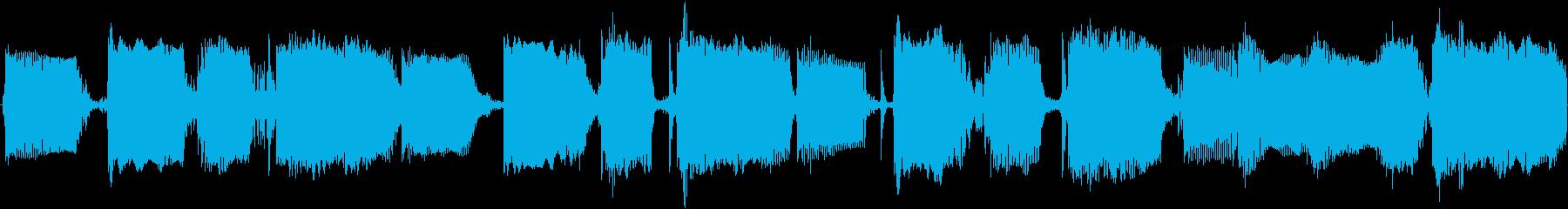 ファンク等に使えるスラップベースループの再生済みの波形