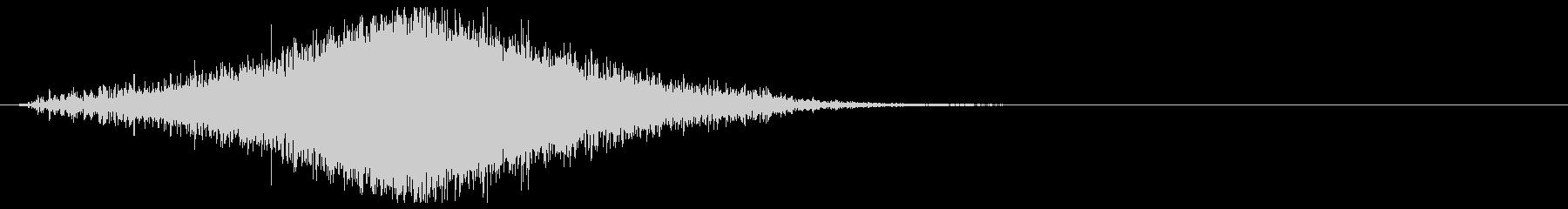 【効果音】フーシュ_上昇して下降の未再生の波形