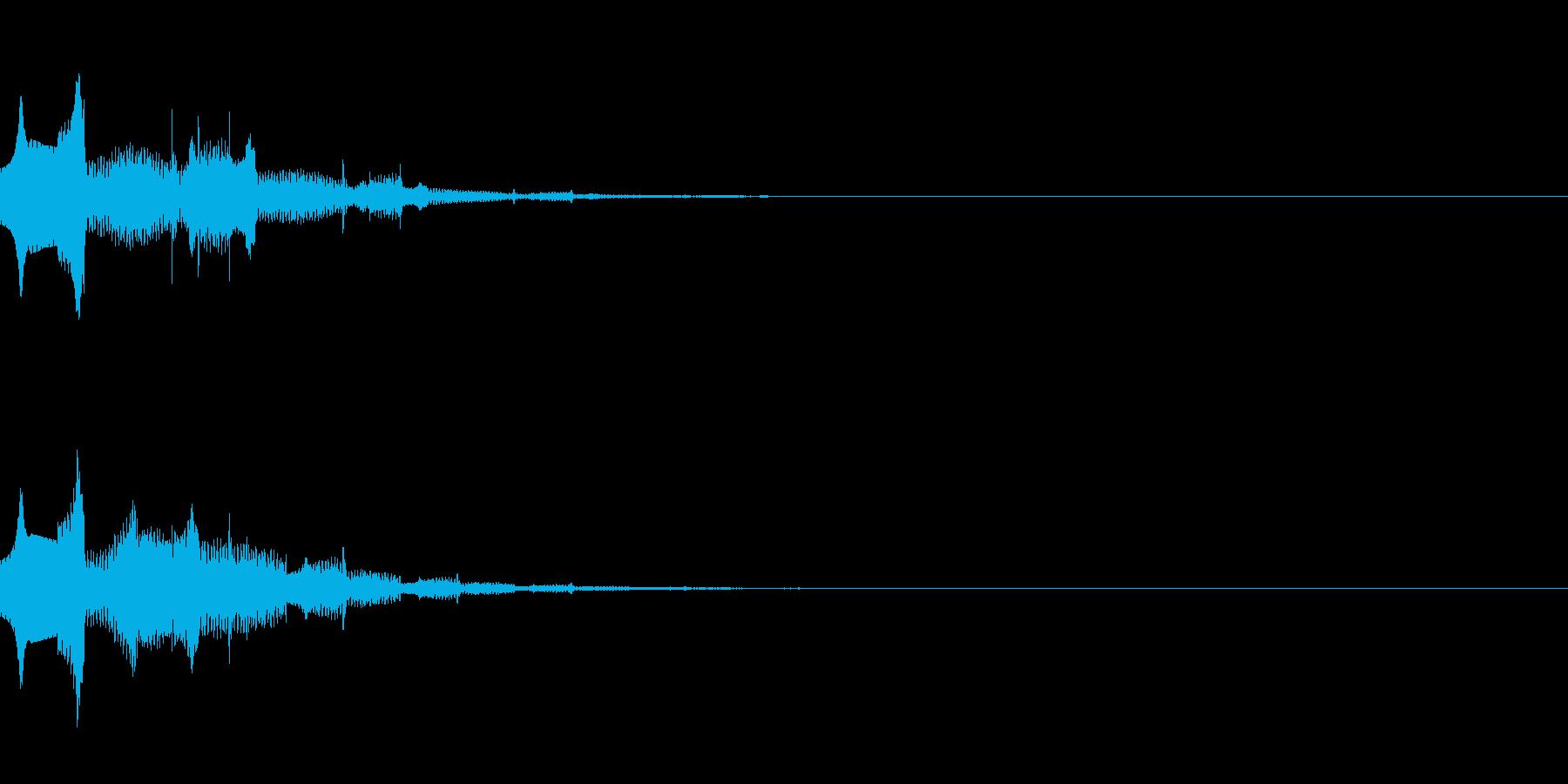 アンビエント音(水/きれい/静か/神秘的の再生済みの波形