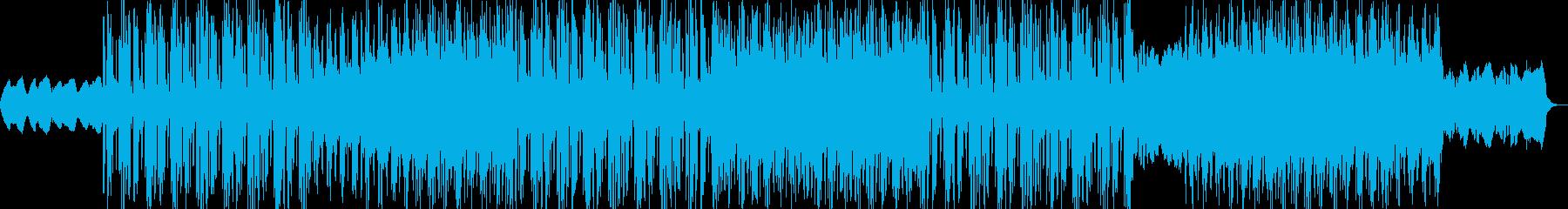 ブレイクビーツ レトロ ポジティブ...の再生済みの波形