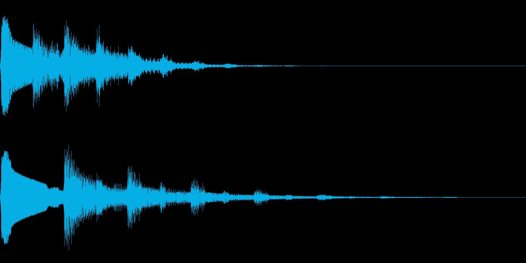 デデンデン/冒険に出発/ピコピコ/旅の再生済みの波形