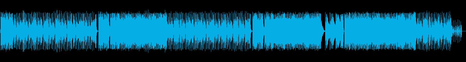 ロッキングギターと真ん中のアコース...の再生済みの波形