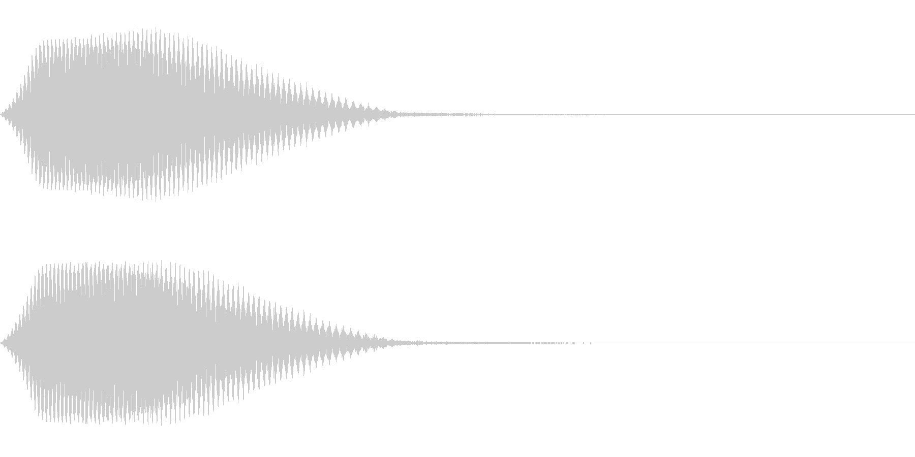 TVFX テレビ向けヒューン音 3の未再生の波形