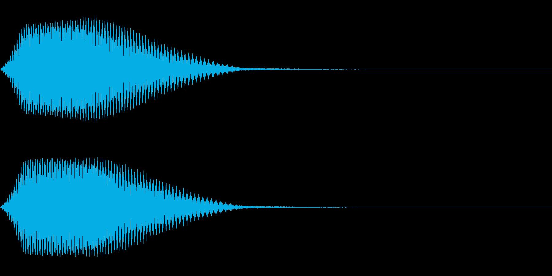TVFX テレビ向けヒューン音 3の再生済みの波形