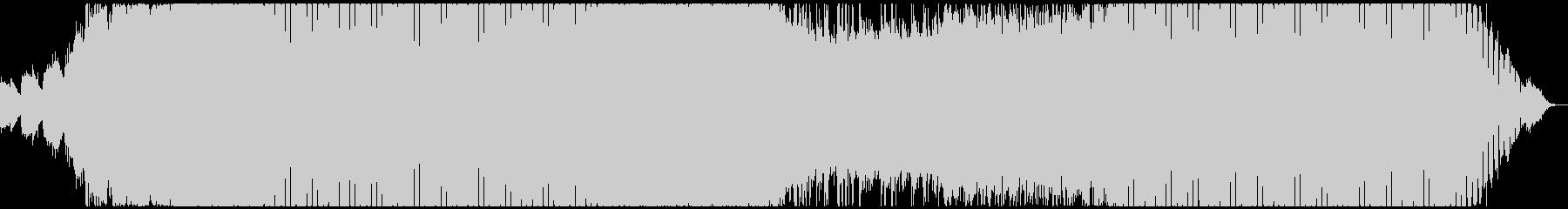 ゲームのバトルシーンに最適なBGMの未再生の波形