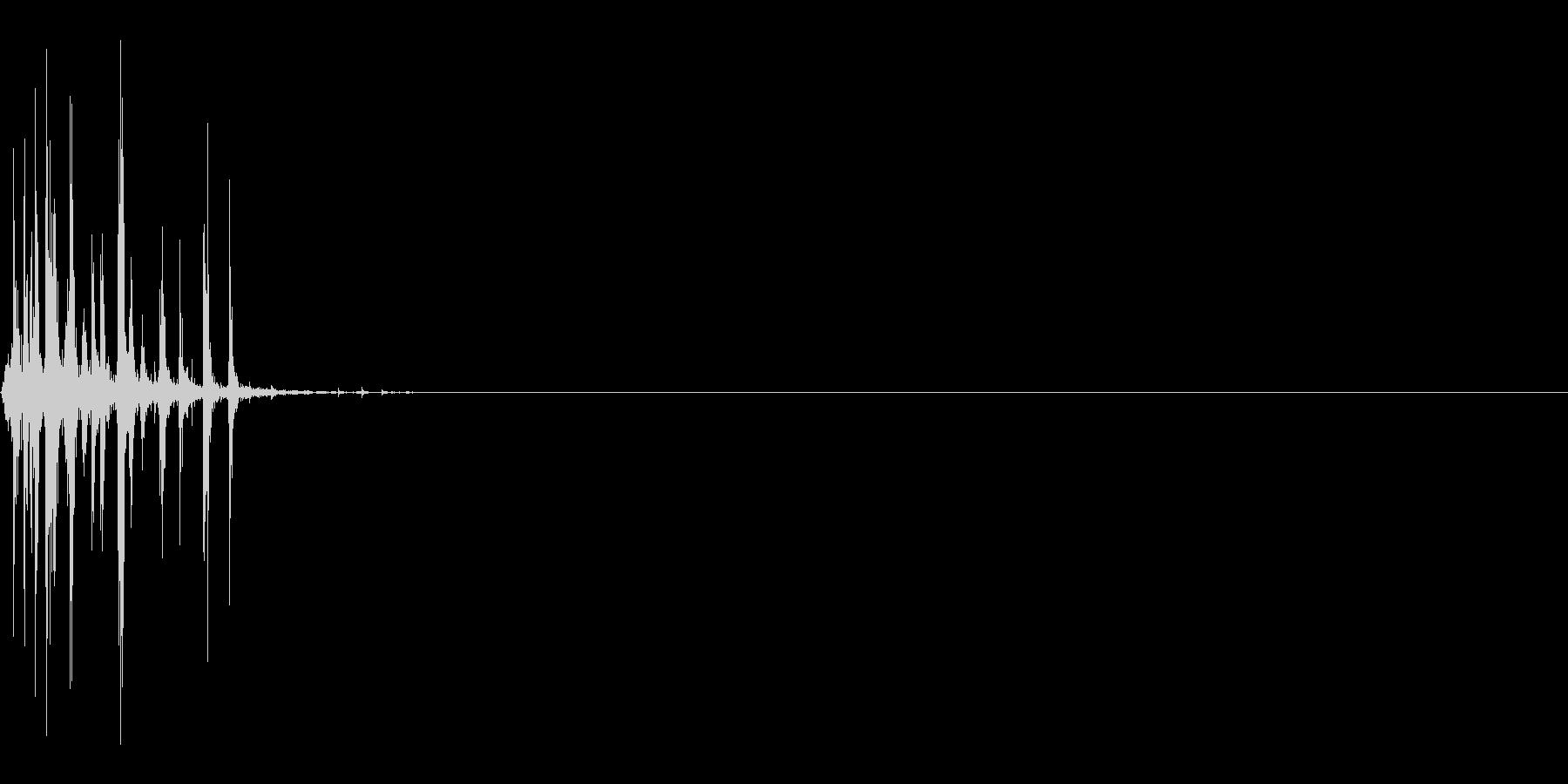 ベジタブルクランチショートドライツイストの未再生の波形