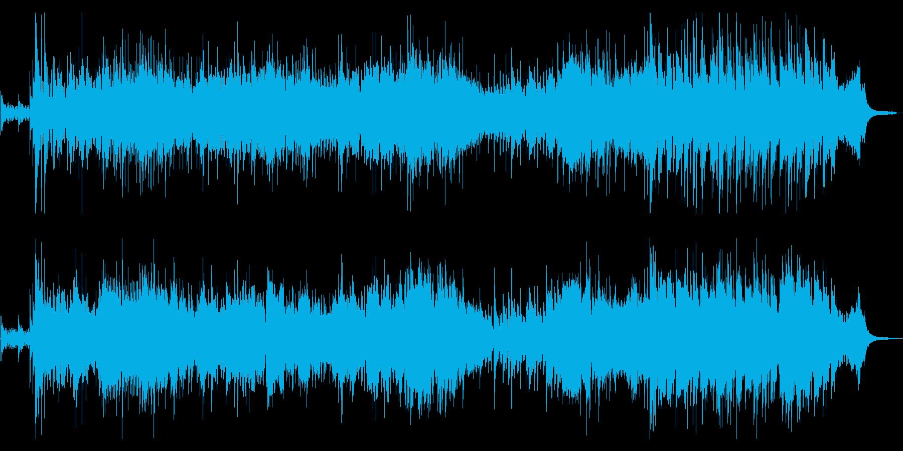 琴とヴィオラの優雅なファンタジーの再生済みの波形