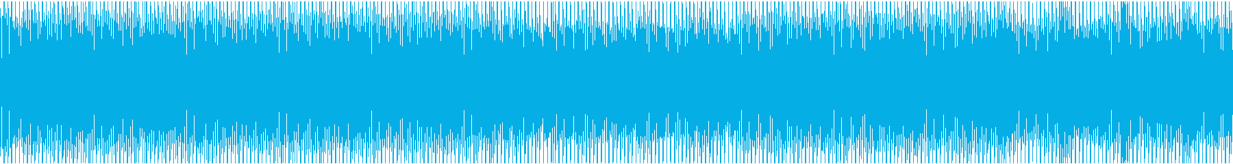 日常・焦る・慌てるシーンの再生済みの波形