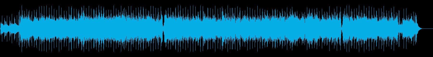 アコギとストリングスによる爽やかな曲の再生済みの波形
