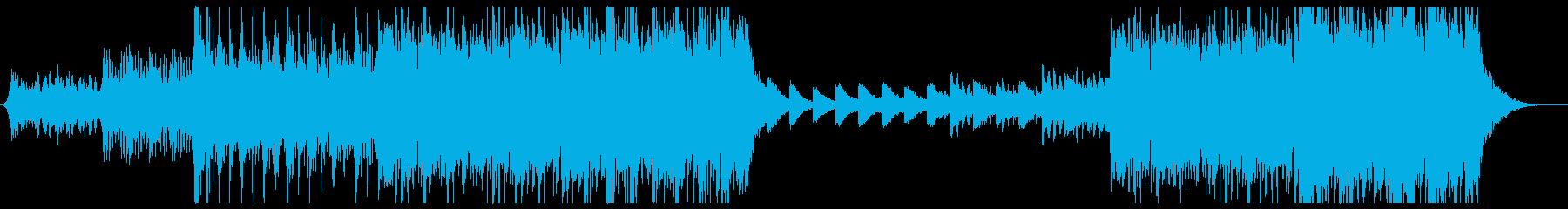 インスピレーションと動機付けのビデオ、の再生済みの波形