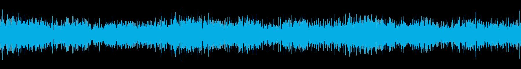 ニュース映像に合うガムラン鉄琴&カリンバの再生済みの波形
