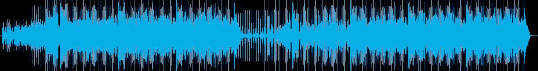 爽やか・疾走感のあるEDMの再生済みの波形