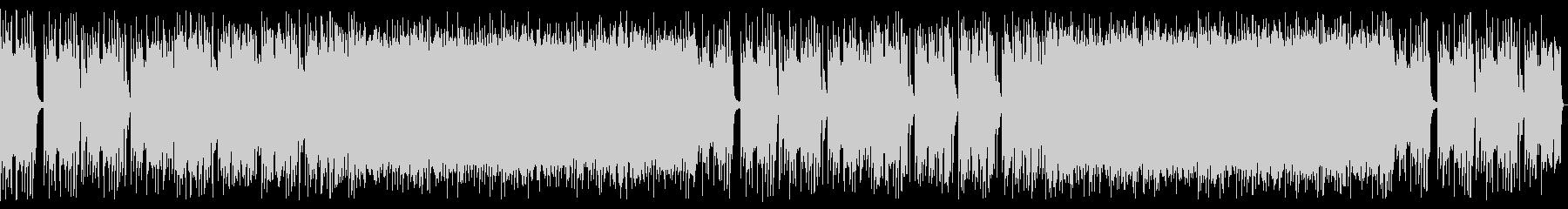 重厚感のあるハードロック_No661_1の未再生の波形