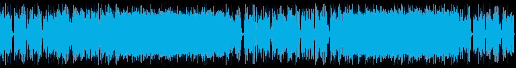 重厚感のあるハードロック_No661_1の再生済みの波形