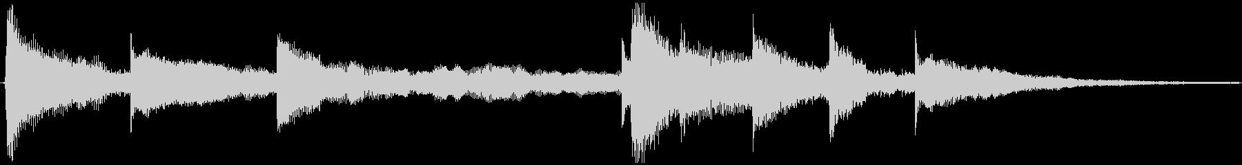 <Loop>ゆったり ピアノの未再生の波形