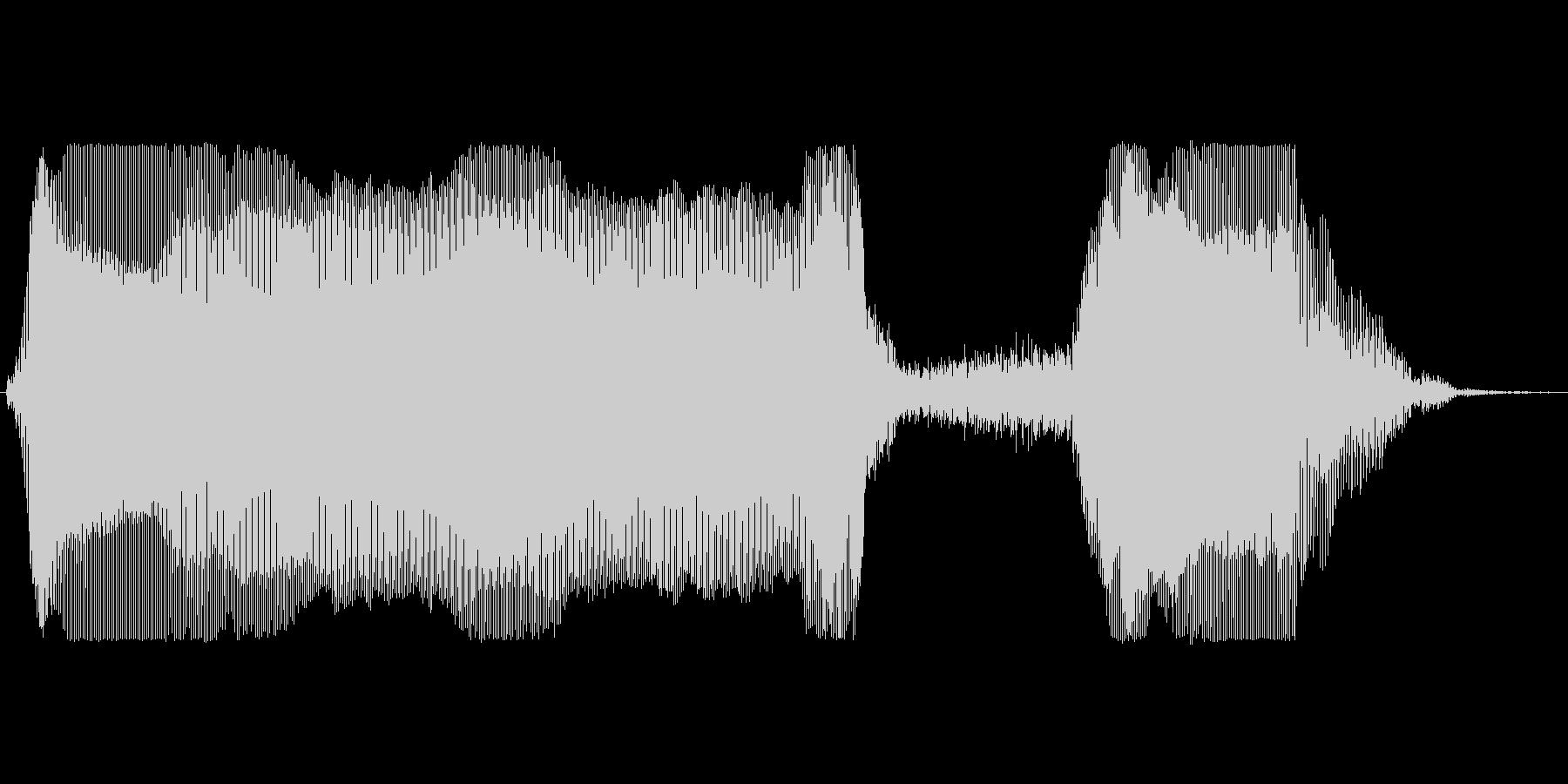 プーッシュ!の未再生の波形
