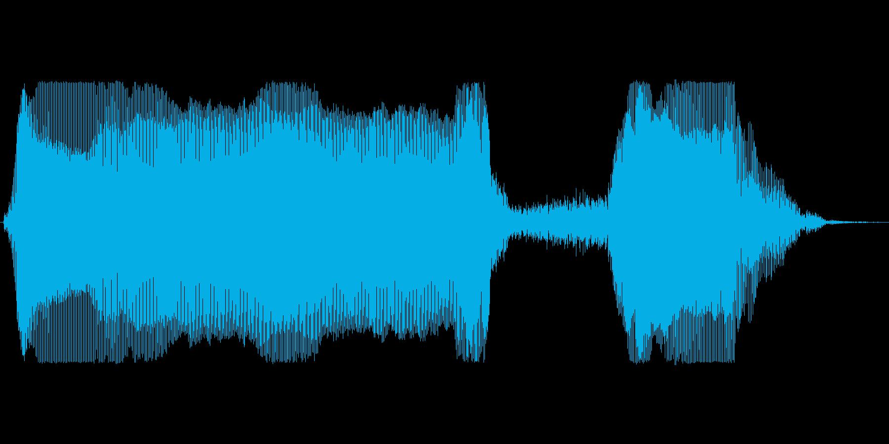 プーッシュ!の再生済みの波形