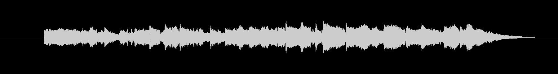 カントリー調のミュージックの未再生の波形