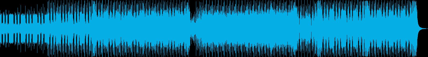 ロック アクション 説明的 adv...の再生済みの波形