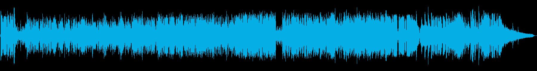 生演奏《ホルンの爽やかワクワクな曲》の再生済みの波形