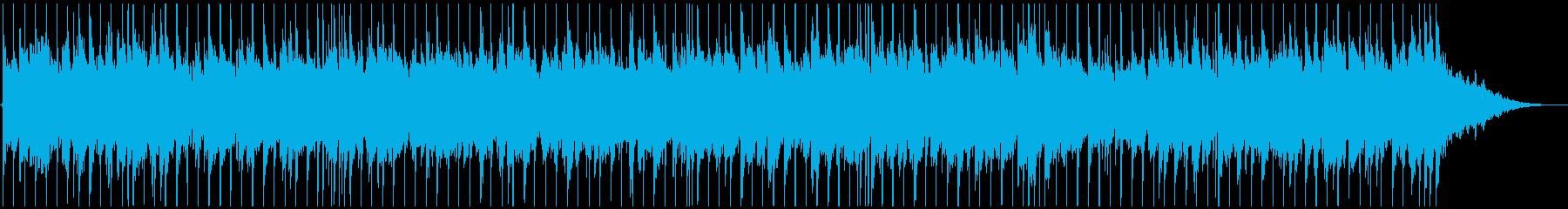 教会から聞こえてきそうなスローなBGMの再生済みの波形