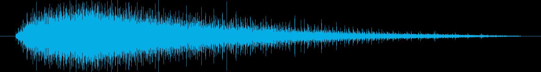 機械 ジグソーエンジン高速中長02の再生済みの波形