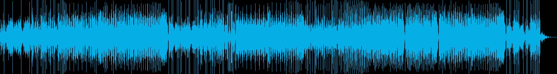 少し怪しげな雰囲気のかっこいいEDMの再生済みの波形