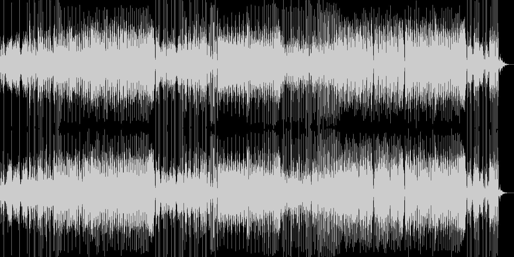 少し怪しげな雰囲気のかっこいいEDMの未再生の波形