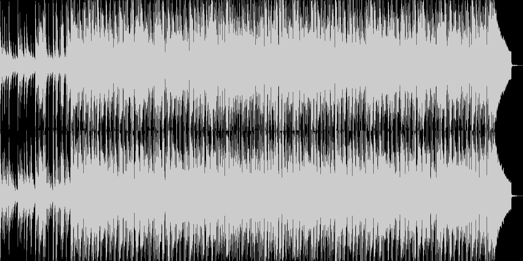 琴の音をフィーチャーした和風なBGMの未再生の波形