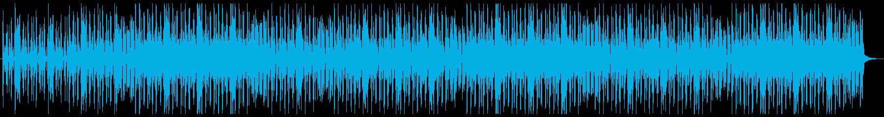 ラテン系のタッチで幸せで、ポジティ...の再生済みの波形