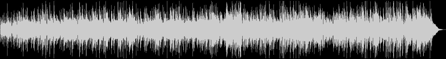 軽快なビー・パップ調JAZZのBGMの未再生の波形