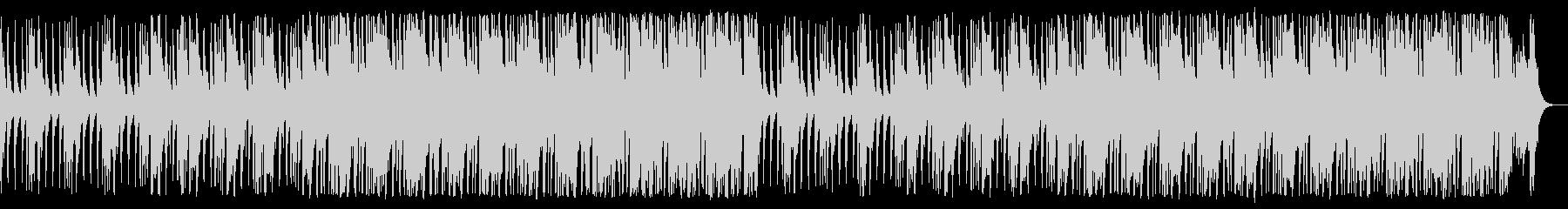 三味線と和太鼓が鳴り響く侍の均衡する戦いの未再生の波形