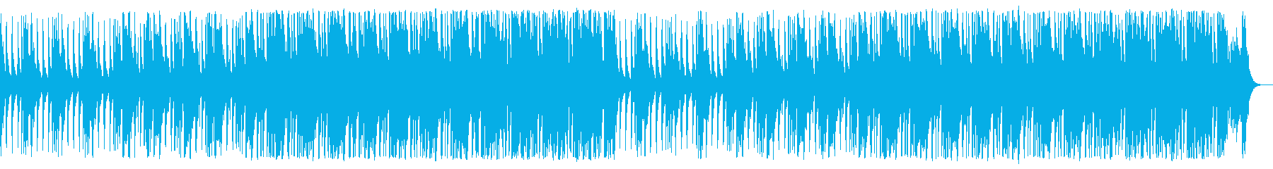 三味線と和太鼓が鳴り響く侍の均衡する戦いの再生済みの波形
