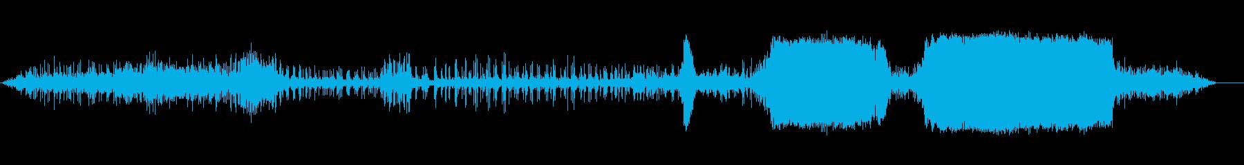 ドラッグスターはスタートラインでア...の再生済みの波形