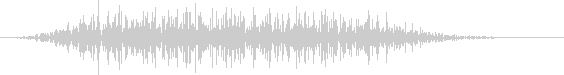 モンスター 悲鳴 48の未再生の波形