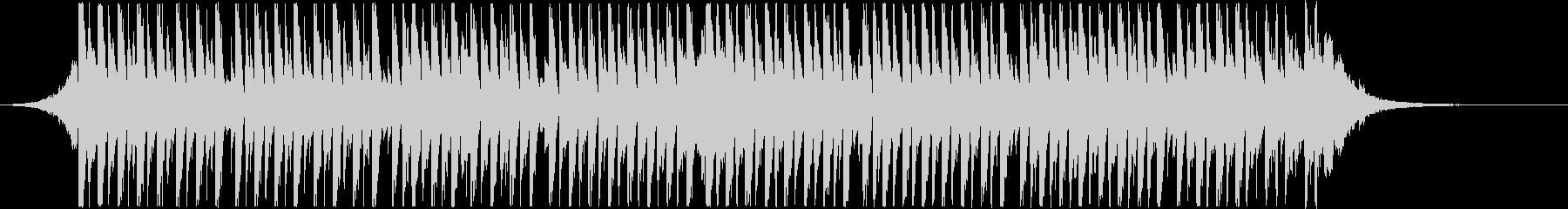 アップリフティングハウス(ショート)の未再生の波形