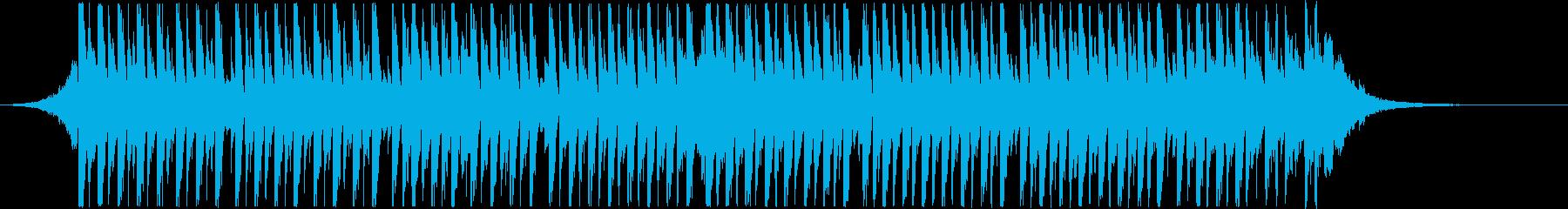 アップリフティングハウス(ショート)の再生済みの波形