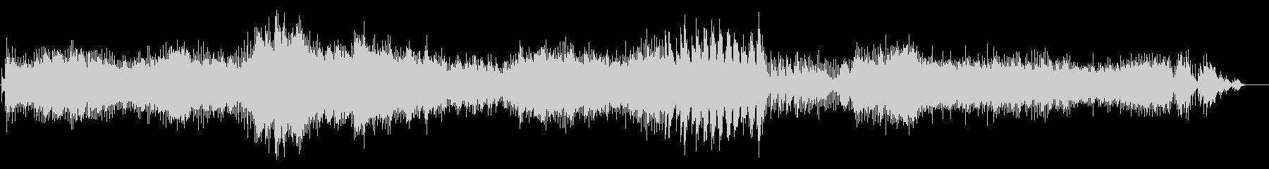 ショパン エチュード Op.10-10の未再生の波形