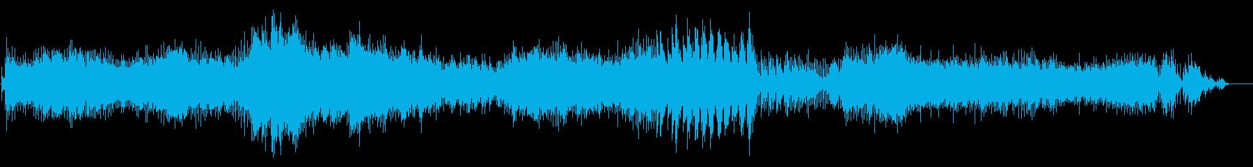 ショパン エチュード Op.10-10の再生済みの波形