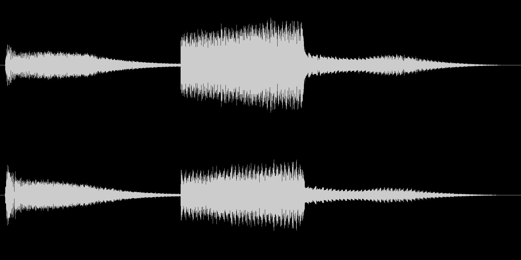 FI デバイス ライズフォール02の未再生の波形