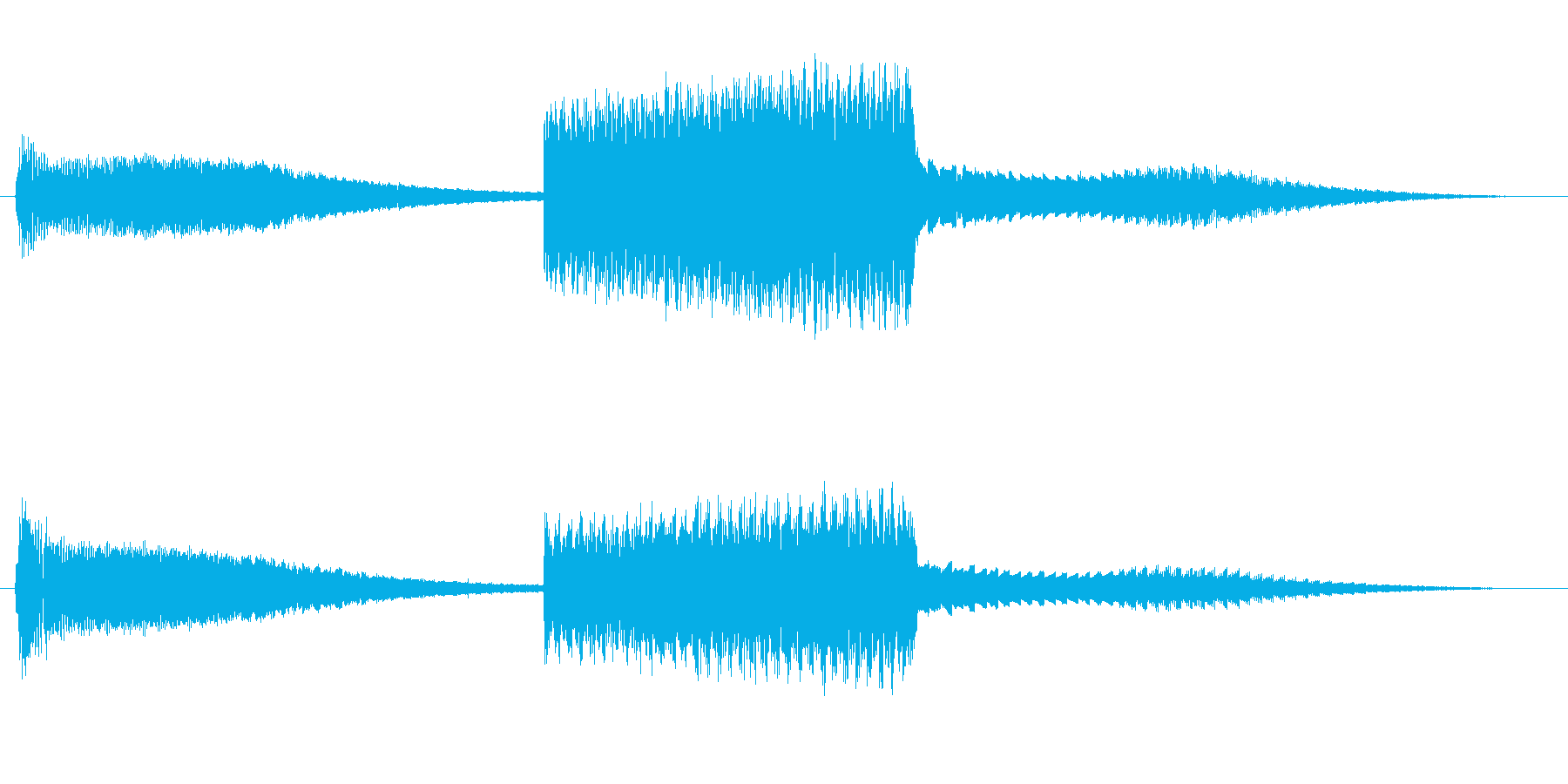 FI デバイス ライズフォール02の再生済みの波形