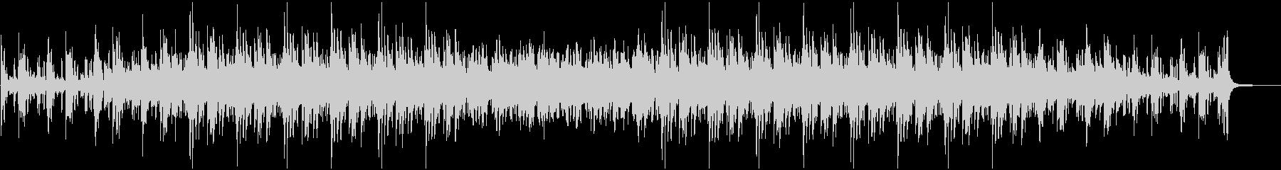 綺麗で切ないピアノメインのBGMの未再生の波形