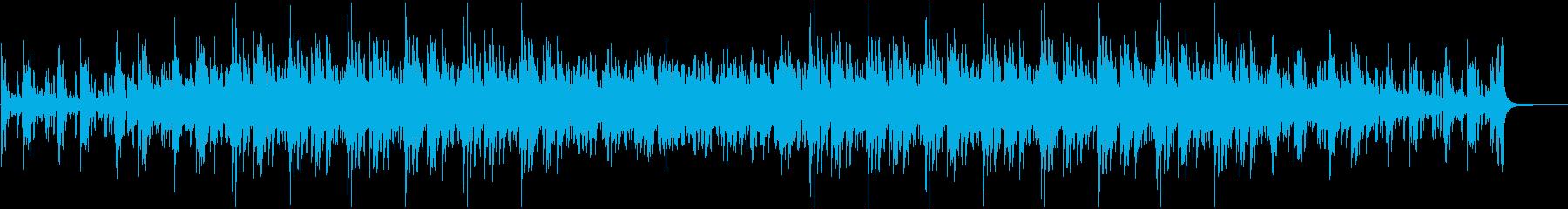 綺麗で切ないピアノメインのBGMの再生済みの波形