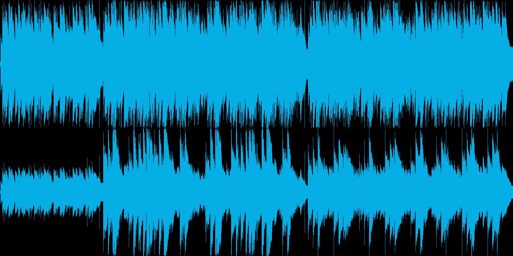 哀愁感と爽やかさを合わせ持つアコギBGMの再生済みの波形